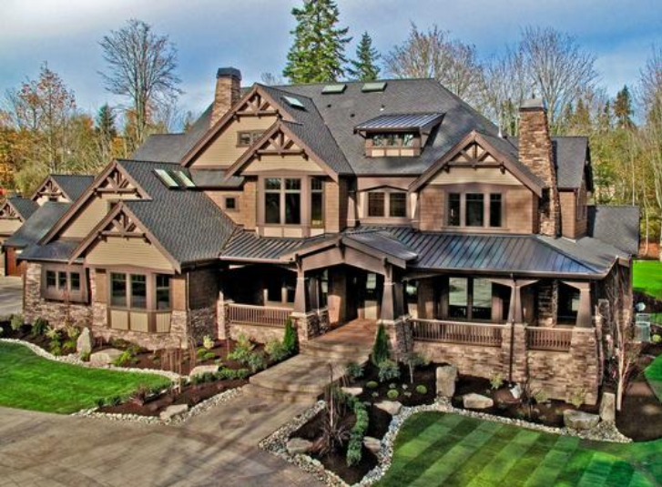 Luxury craftsman home plan 23291jd 2nd floor master for Luxury craftsman style house plans