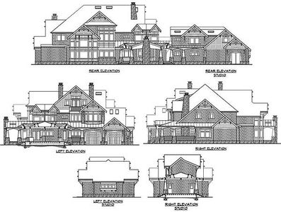 Luxury craftsman home plan 23291jd architectural for Large craftsman house plans