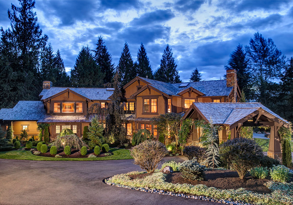 Luxury craftsman home plan 23299jd architectural for Craftsman luxury homes