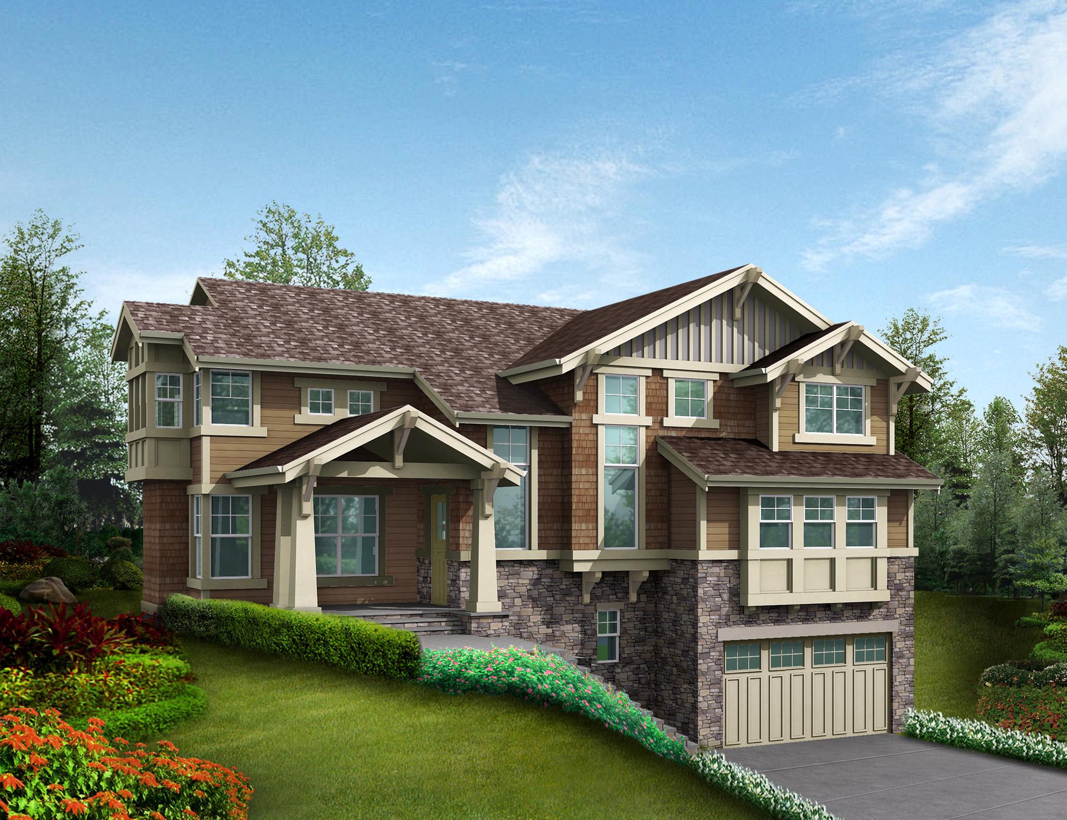 3 or 4 car tandem garage 23350jd architectural designs for 4 car tandem garage house plans