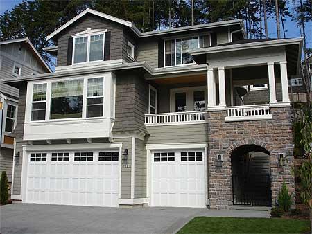 Versatile Sloping Lot House Plan 23373jd Architectural