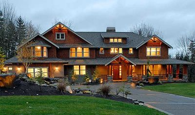 luxury craftsman style home plans architectural designs 25061