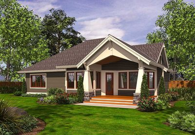 Rambler with 3 car garage 23382jd 1st floor master for Rambler house plans with 3 car garage