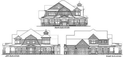 Outstanding Shingle-Style Home Plan - 23393JD thumb - 03