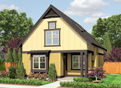 Cozy Cottage With Options 23398jd Architectural