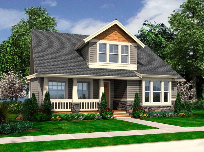 Craftsman bungalow 23400jd architectural designs for Architectural designs craftsman style homes
