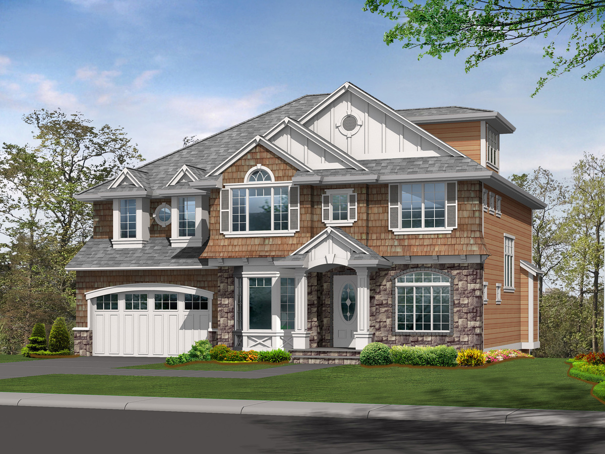 Attractive Northwest Home Plan 23406jd Architectural