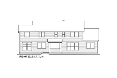 Craftsman Home Plan in Many Versions - 23421JD thumb - 02