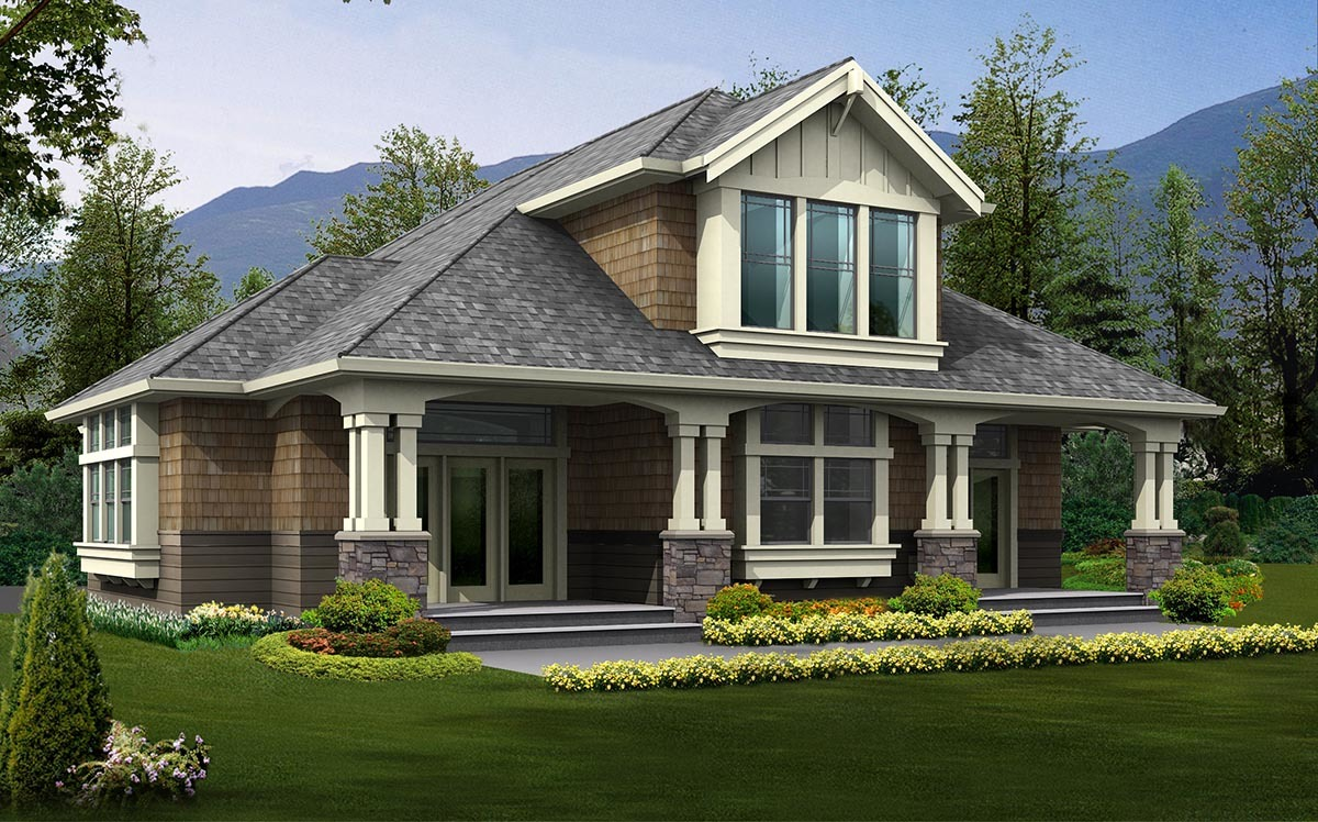 Attractive 3 bedroom rambler 23448jd architectural for Rambler home designs