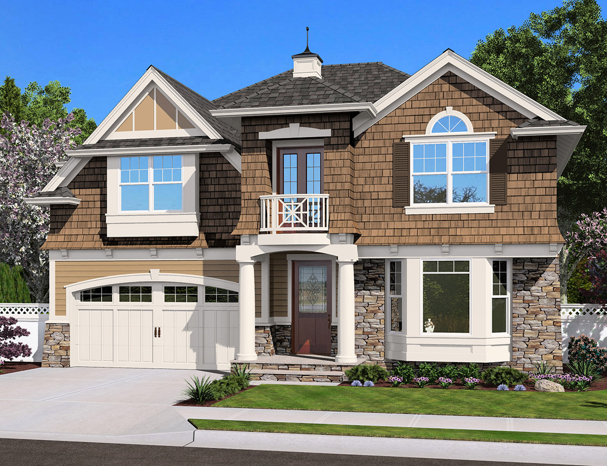 Craftsman With Many Options 23462jd Architectural