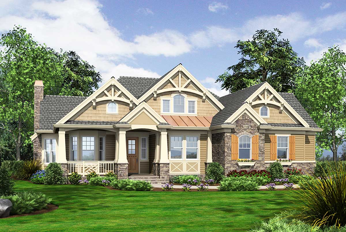 Architectural designs for Rambler homes