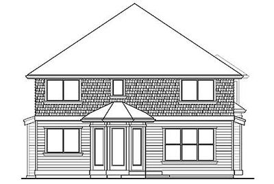 For the front sloping lot 2357jd architectural designs for Front sloping lot house plans