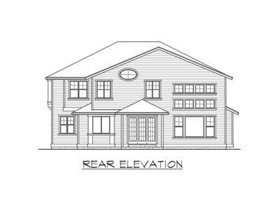 Plan 23582JD Beautiful 4 Bed Gambrel House Plan – Gambrel House Floor Plans