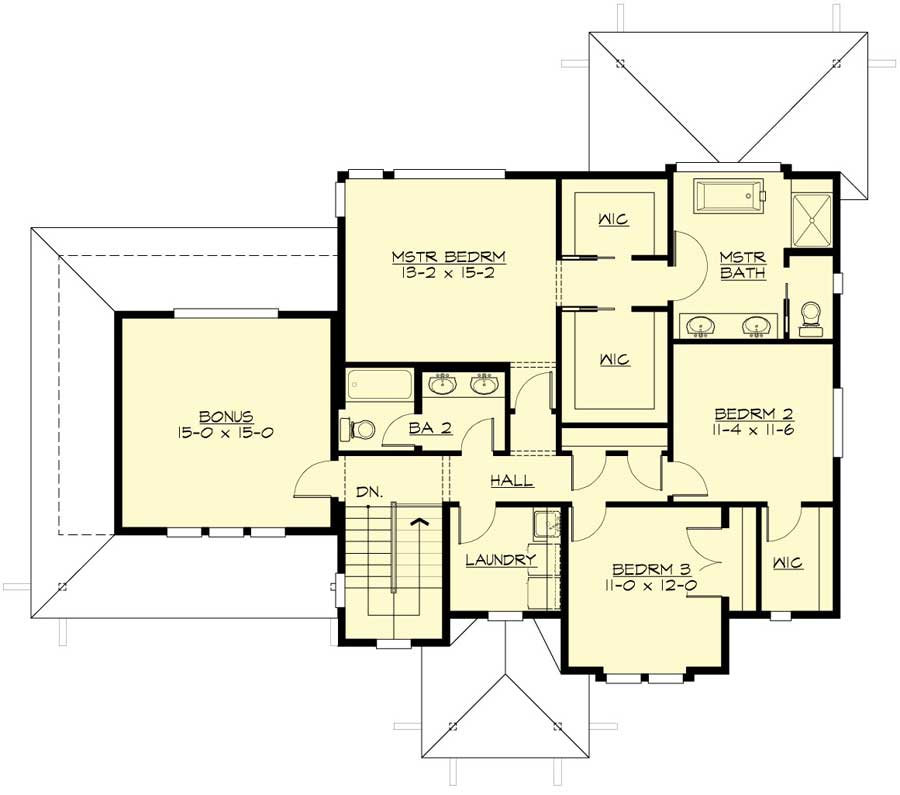 Spacious open layout 23604jd architectural designs for Spacious floor plans