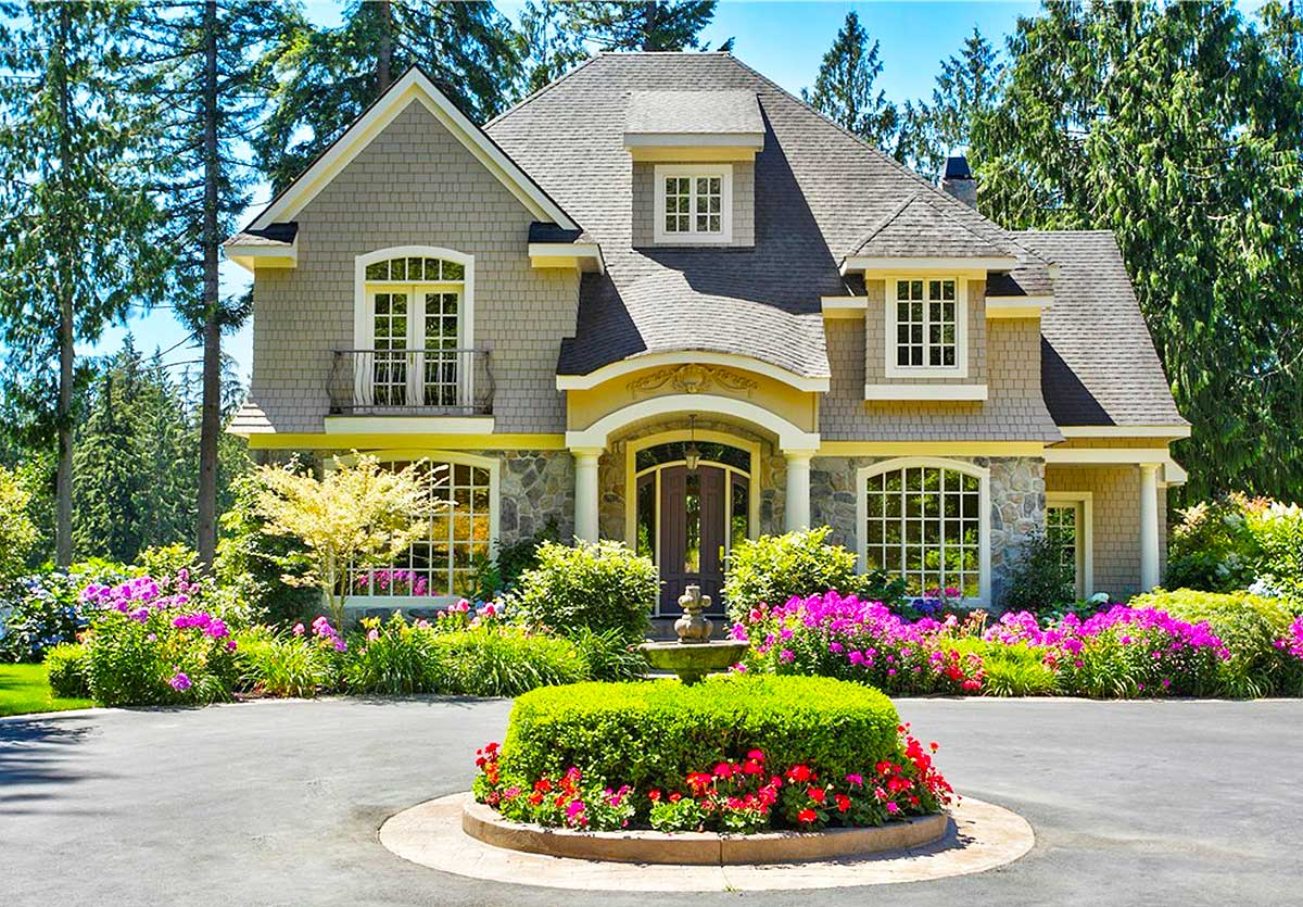 Charming cottage with greatroom design 2366jd - Cottage style home plans designs ...