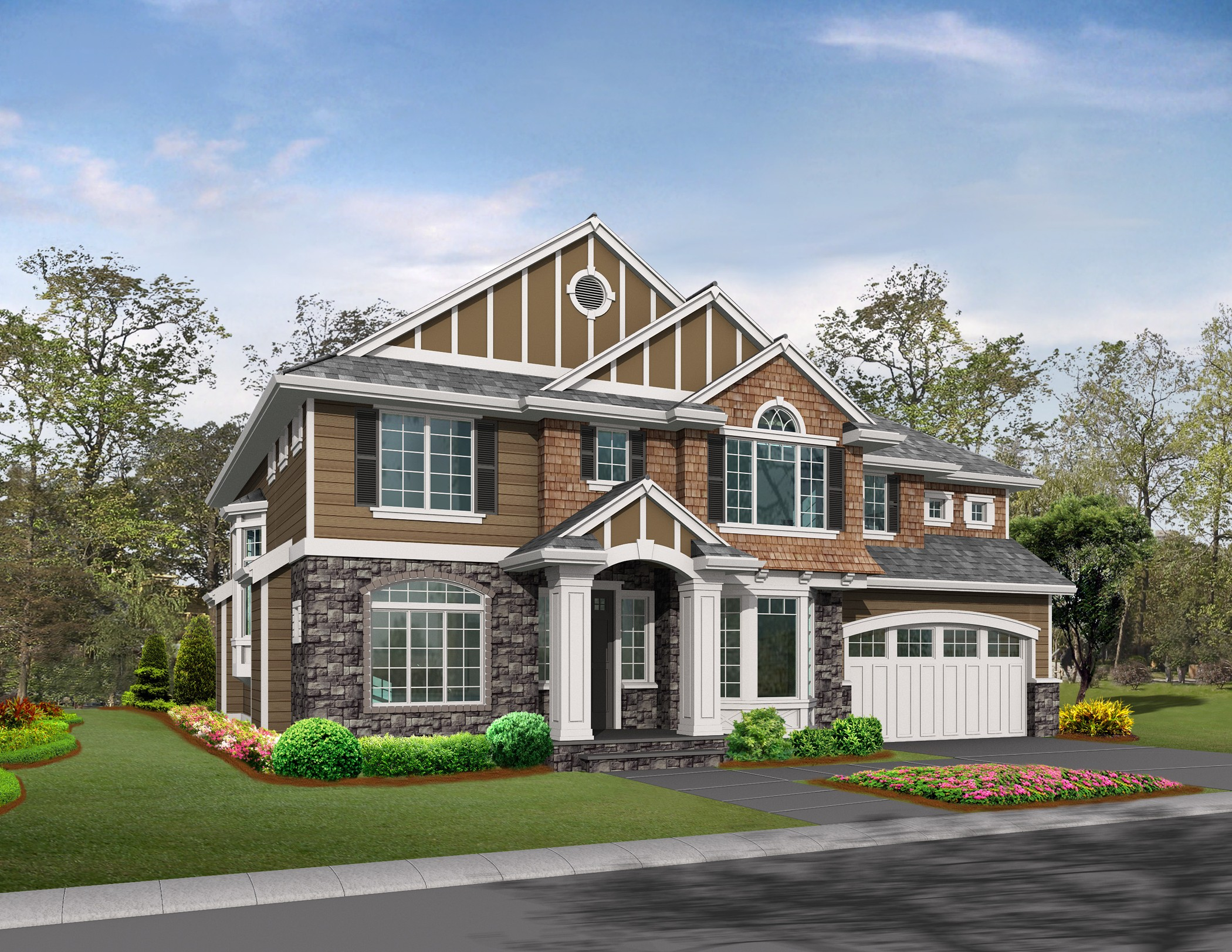 4 car tandem garage 2369jd architectural designs for 4 car tandem garage house plans