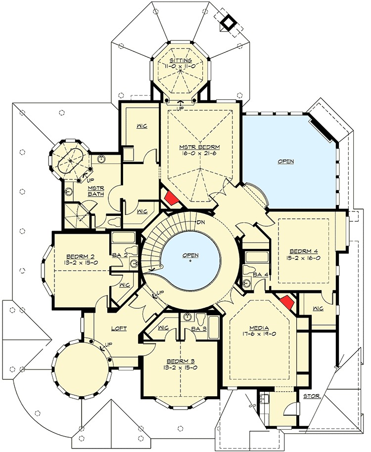 Award winning house plan 2384jd 2nd floor master suite for Award winning floor plans