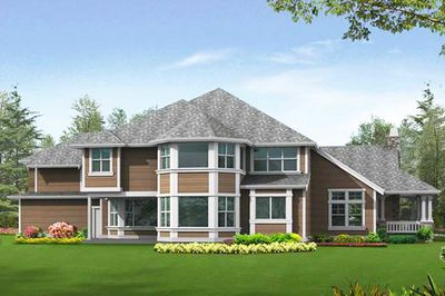 Luxury Master Suite with Sitting Room & Fireplace - 2387JD thumb - 16