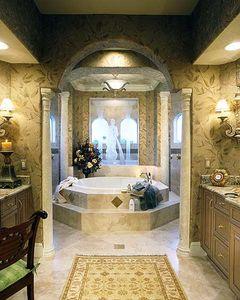 Premium luxury design 24008bg 1st floor master suite for Bathroom accessories made in italy