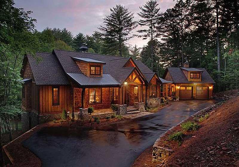splendid mountain home plan - 24111bg   architectural designs