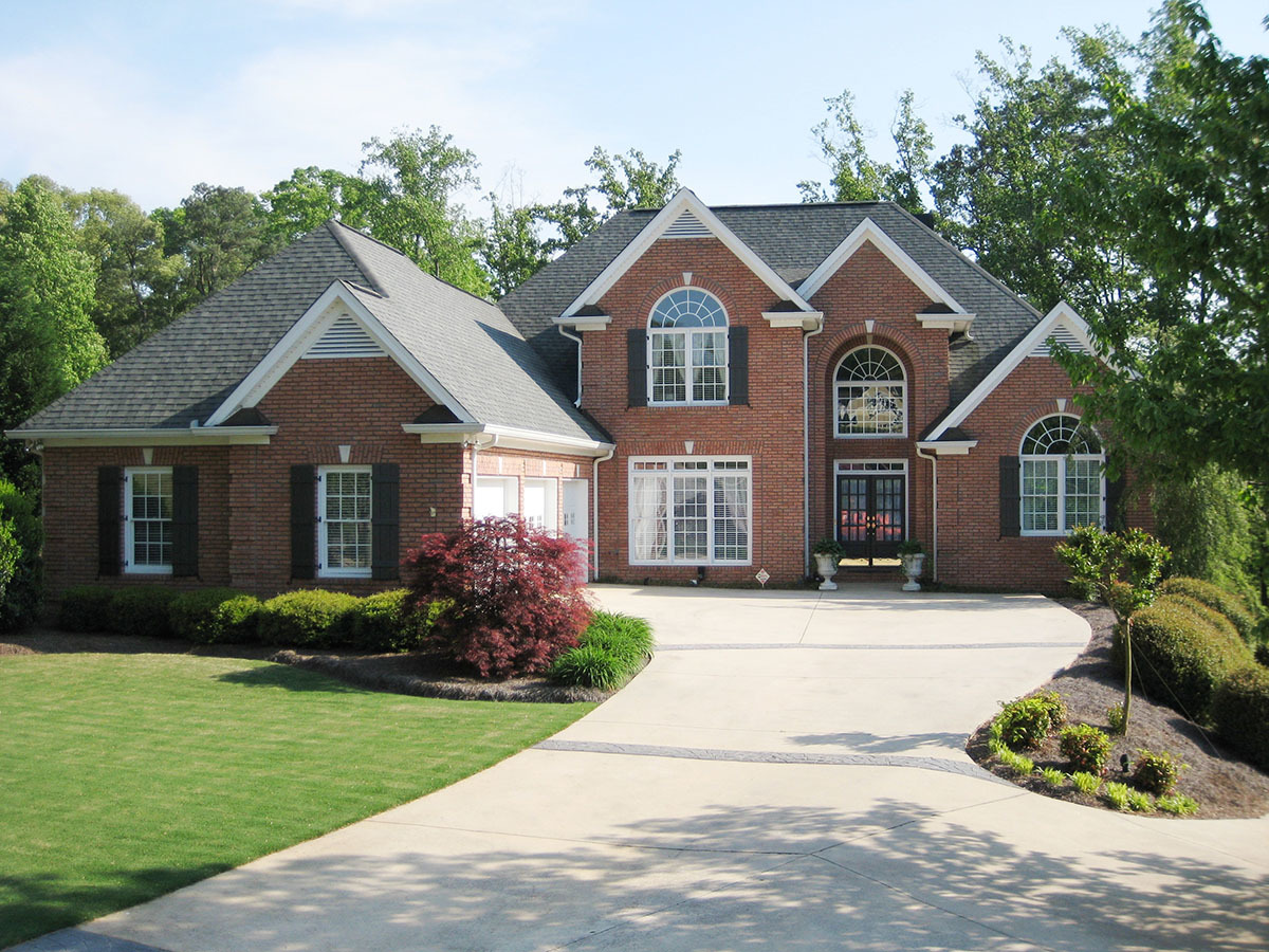 Stately traditional home plan 24330tw 1st floor master for American traditional homes