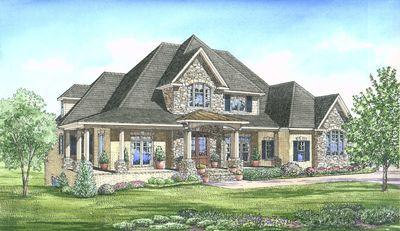 Luxurious European Home Plan - 24346TW thumb - 06
