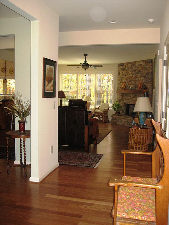 Open Floor Plan Split Foyer : Open floor plan split ranch tw st master