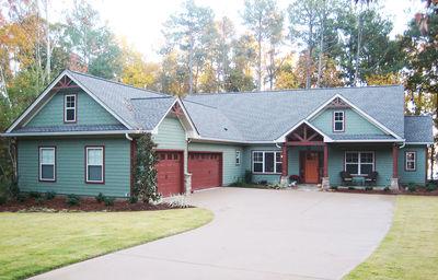 Open Floor Plan Split Ranch - 24352TW thumb - 01