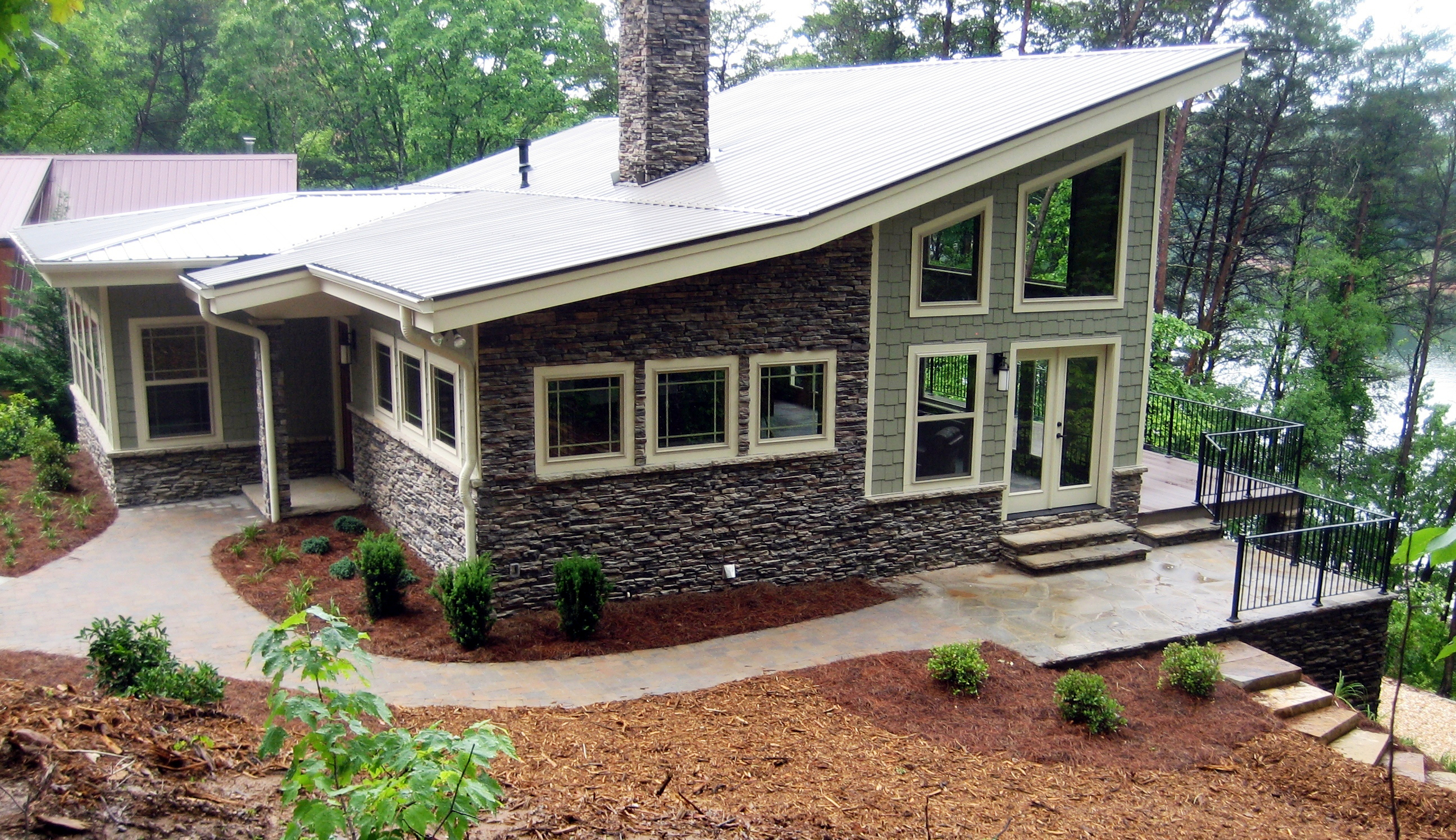 fabulous vaulted great room 24355tw architectural designs house plans - Craftsman Home 2015