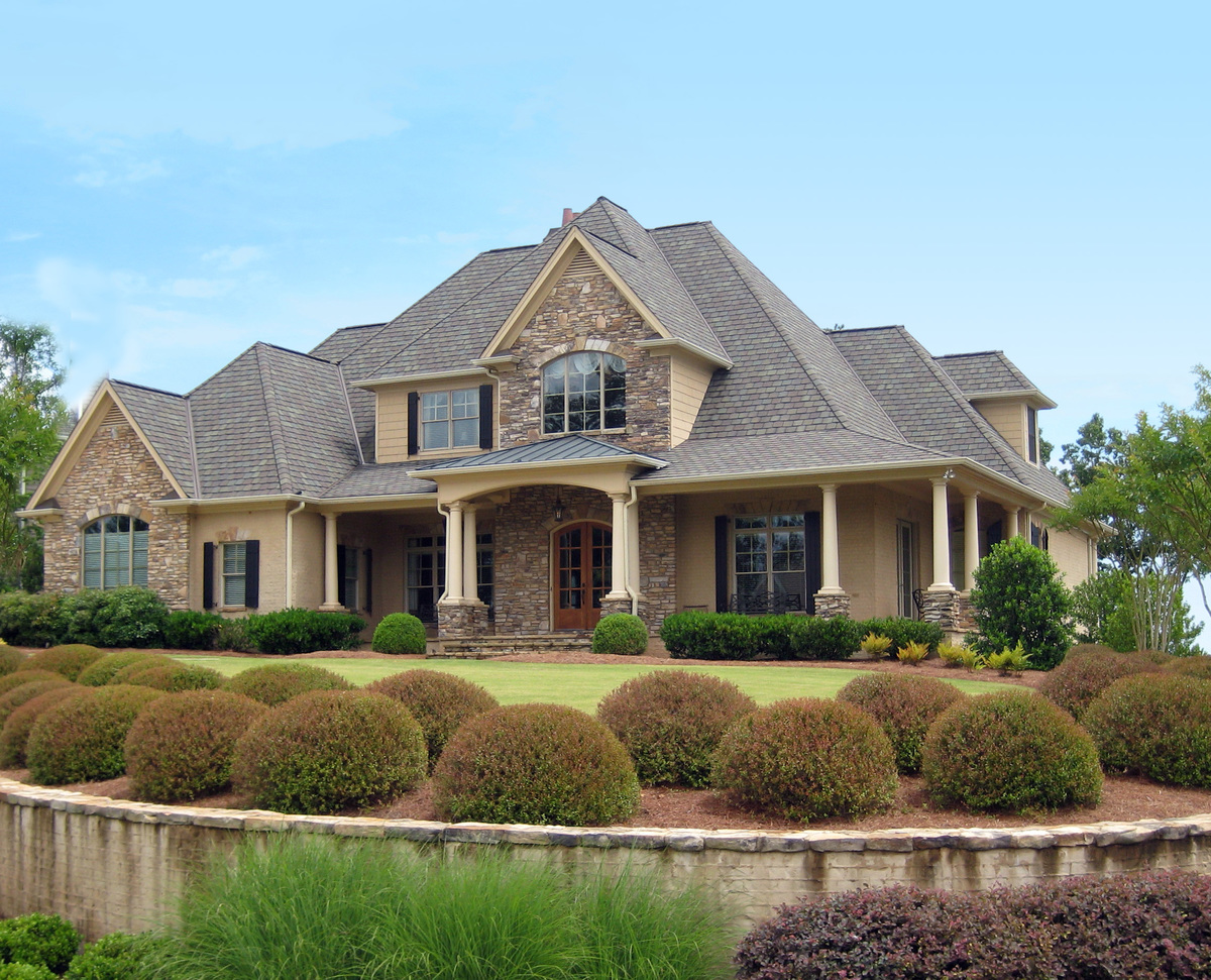 Luxury house plan in two sizes 24356tw architectural for Large luxury home plans