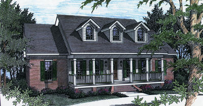 Southern charm 2502dh architectural designs house plans for Southern charm house plans