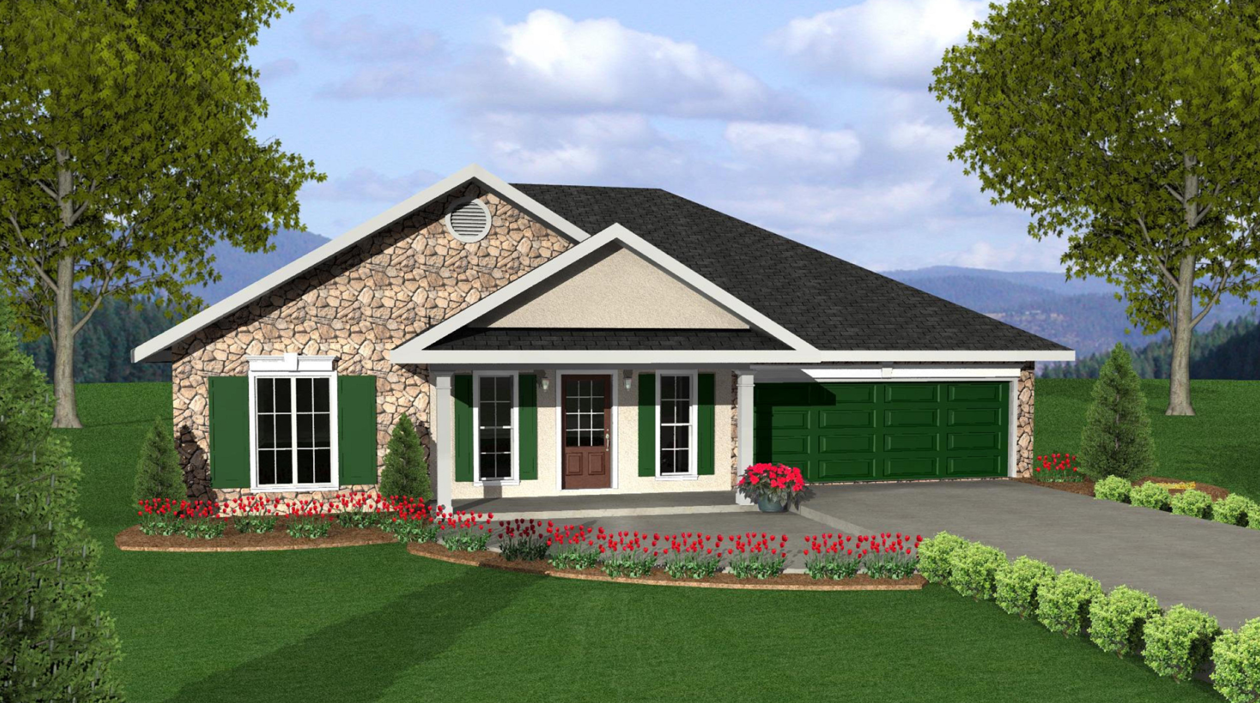 Cozy House Plan In Two Versions 2518dh Architectural