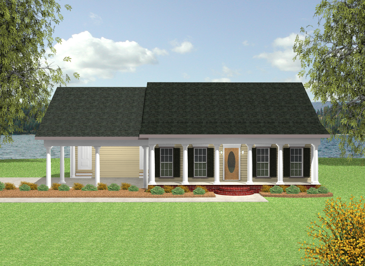 Charming country cottage house plan 2548dh 1st floor for Charming cottage house plans