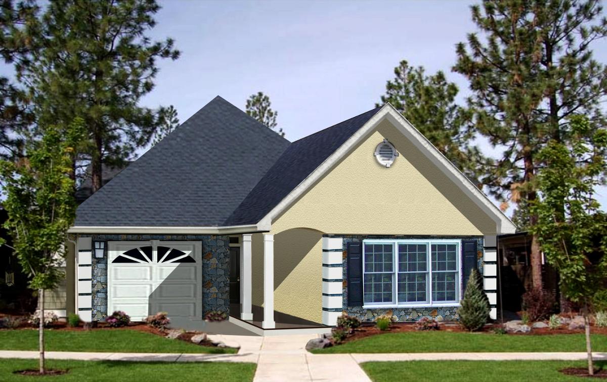 Cozy cottage 2550dh architectural designs house plans for Cozy home plans