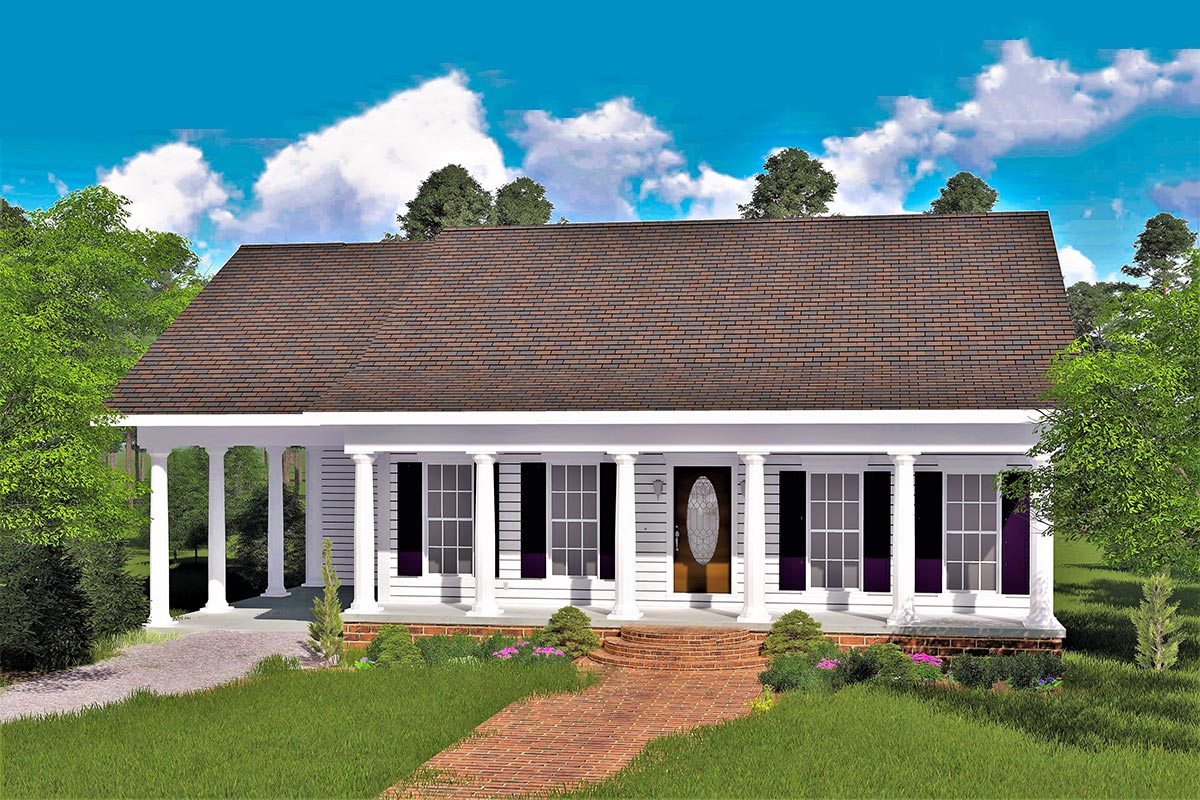 The perfect cottage 2562dh architectural designs for The perfect house plan