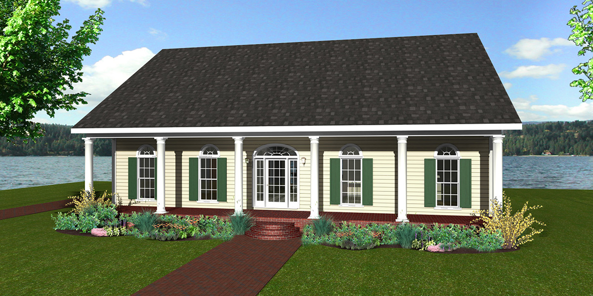 Timeless character and style 2573dh architectural for Timeless house plans
