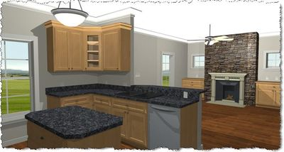 Cozy 2 Bed Cottage House Plan - 2596DH thumb - 02