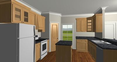 Cozy 2 Bed Cottage House Plan - 2596DH thumb - 03