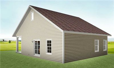 Cozy 2 Bed Cottage House Plan - 2596DH thumb - 04