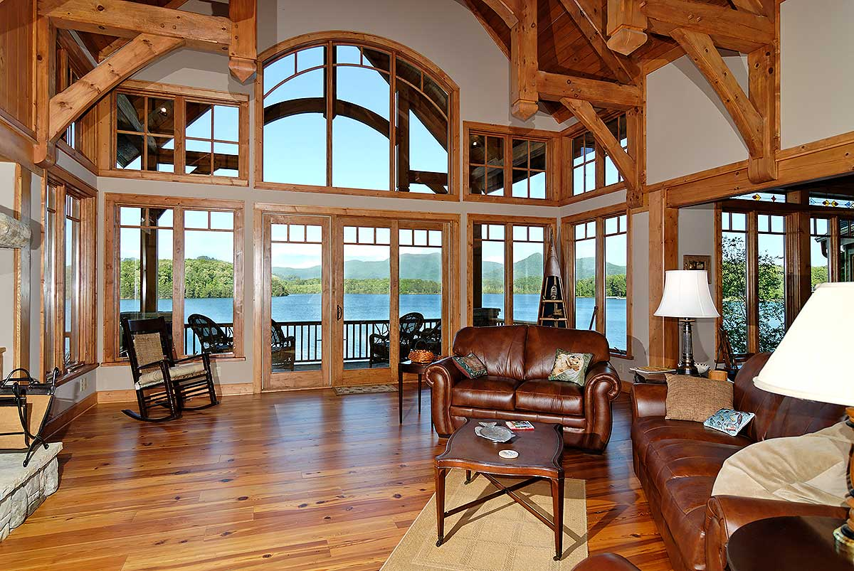 Architectural designs Lake house windows