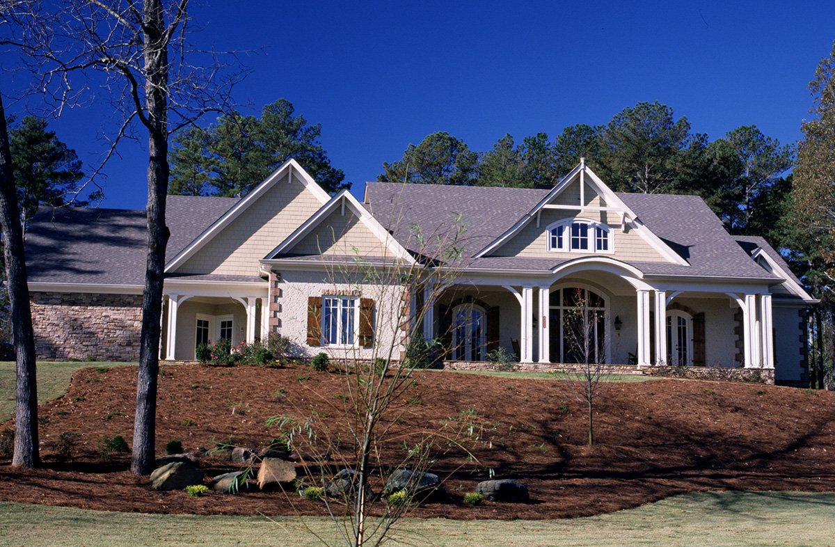 Spacious ranch home plan 26681gg 1st floor master for Spacious house plans