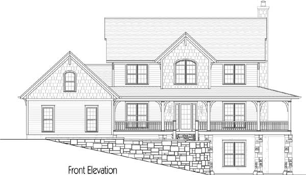 Mountain home with wrap around porch 26703gg 2nd floor for Mountain house plans with wrap around porch