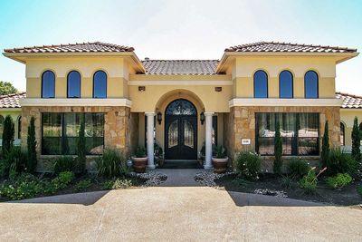 Impressive Mediterranean House Plan 28308HJ Architectural