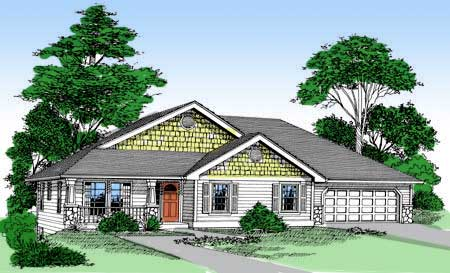 Finished daylight basement 2831j architectural designs for Daylight basement house plans designs