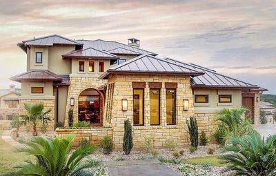 Amazing Stunning Tuscan House Plan   28332HJ Thumb   01