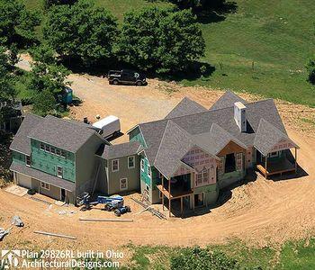 Mountain Home Plan with Garage and Bonus Level - 29826RL thumb - 21