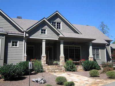 Mountain Home Plan with Garage and Bonus Level - 29826RL thumb - 04