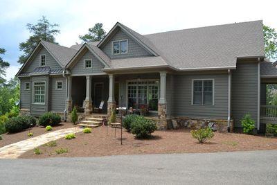Mountain Home Plan with Garage and Bonus Level - 29826RL thumb - 05