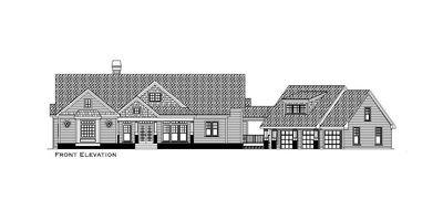 Mountain Home Plan with Garage and Bonus Level - 29826RL thumb - 39