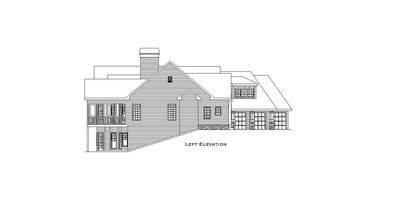 Mountain Home Plan with Garage and Bonus Level - 29826RL thumb - 40